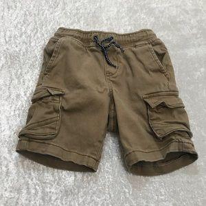 EUC Gymboree Toddler Boy Cargo Shorts Size XXS 3T